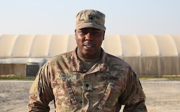 Spc. Cleveland Crosby Holiday Message