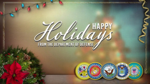Happy Holidays From the Military!