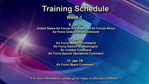 AFIMSC's Installation Support Directorate Training Announcement