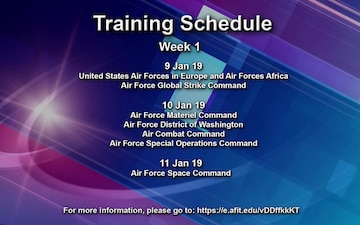 AFIMSC's Installation Support Directorate Training Announcement