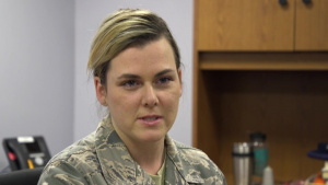 (no lower thirds) 178th Wing Animal Assisted Activities Program promotes well-being for Airmen