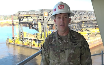 U.S. Army Corps of Engineers Vicksburg District Commander Delivers Shout Out for Armed Forces Bowl Game