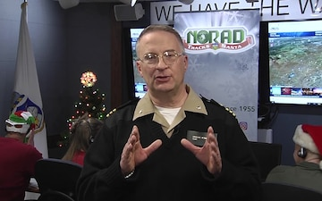 NORAD Tracks Santa Interview: Command Curtis Jenkins WGHP