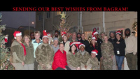 Afghanistan District Sends Holiday Wishes Home