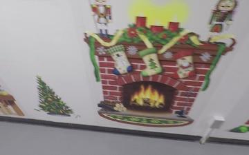 Hellcat Holiday Hallway