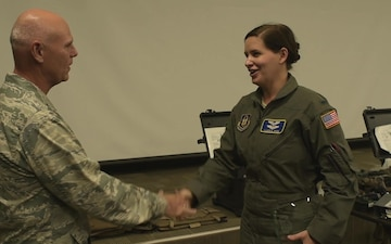 Dobbins wing commander, command chief surprise quarterly award winners