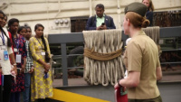 USS Anchorage Student Ship Tour