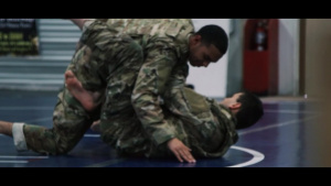 USARCENT Soldiers Participate in Modern Army Combatives Training at Camp Arifjan