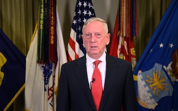 U.S. Secretary of Defense James. N. Mattis Sends Holiday Message to Department of Defense