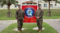 31st MEU CO and Sgt. Maj. Personal Thank You