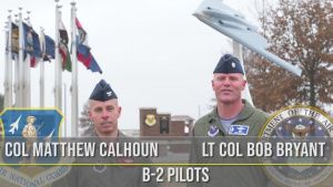 B-2 Pilot Shout Out Video for Rose Bowl 2019