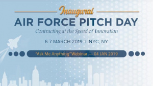 AF Pitch Day - Ask Me Anything Webinar #2-  Jan 4, 2019