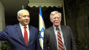 NSA Bolton, Israeli Prime Minister Netanyahu Before Deliver Statements to Press