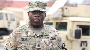 91st BEB's 1st. Sgt. Richard Gaines: A Model of NCO Leadership