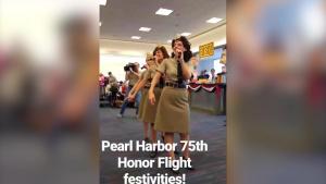 Honor Flight Dancers