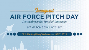 AF Pitch Day - Ask Me Anything Webinar #3- Jan 7, 2019