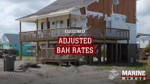 Marine Minute: Adjusted BAH Rates