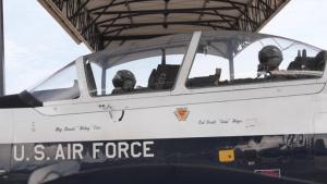 T-6 Texan II's taxi and take flight