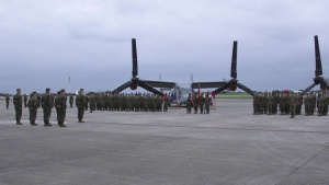 VMM-265 Relieves Sgt. Maj. Paz as command Sergeant Major