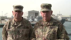 The Adjutant General of Mississippi Visits Troops in Kuwait