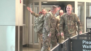 Chattanooga Based Airmen Return from Iraq