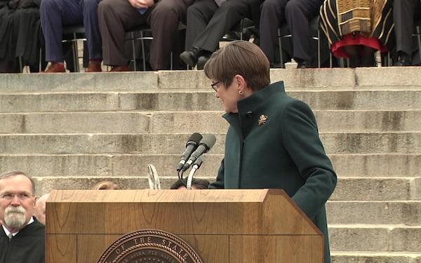 Kansas Governor Laura Kelly's Inauguration