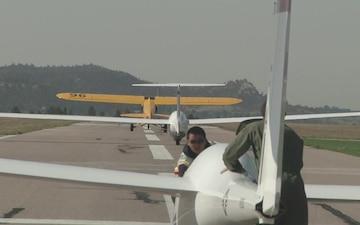 TG-16A Glider Take off 5
