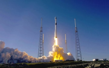 "GPS III SpaceX Falcon 9 Launch ""Start of a new era"""