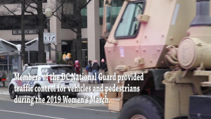 DC National Guard deputized for Women's March 2019