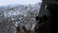 MC-130J Crew Conducts Low Level Flight