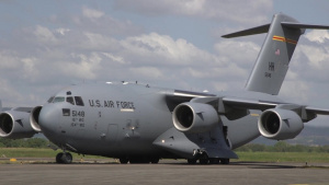 Bilateral Air Contingent Exchange - Philippines, C-17 Arrival
