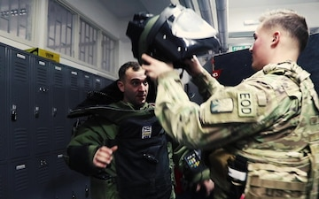 KFOR EOD Teams train with Kosovo Police