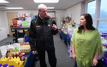 Phil Murphy, Governor of New Jersey, Visits Training Center Cape May's Food Pantry