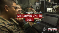 Marine Minute: MARADMIN 220/18 (SGLI)
