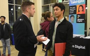 NRD San Francisco attends SCU Winter Career Fair