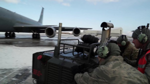 914th Air Refueling Wing Aircraft Maintenance Squadron Delivers Through Weather