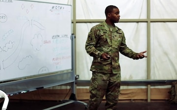 155 ABCT Instructs Basic Leader Course to U.S. Army Central Soldiers