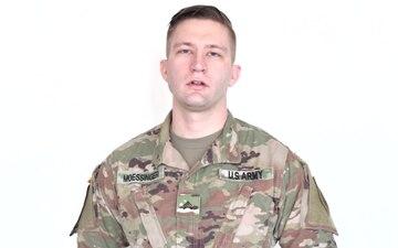 Sgt. Frederick Moessinger Super Bowl shoutout