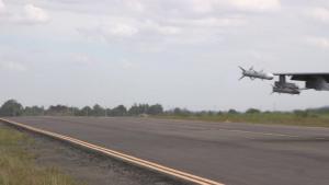 BACE-P F-16 and FA-50 Landings, B-Roll