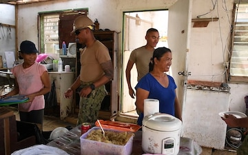SeaBee Impact to a Tinian Community