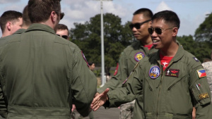 U.S. F-16s Participate in BACE-P for the First Time