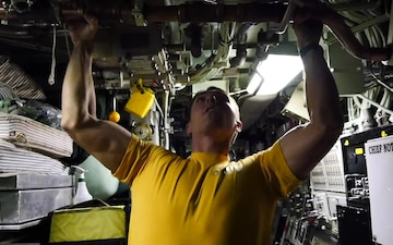 Did You Know: Exercise on a Submarine