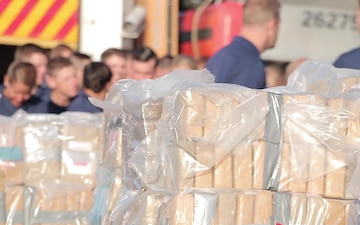 Coast Guard Offloads 34,780 Pounds of Cocaine in Port Everglades