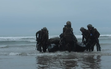 Exercise Iron Fist 2019 Surf Passage and Patrolling