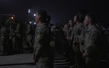 Soldiers Arrive at Laughlin Air Force Base