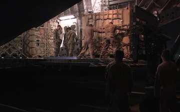 Soldiers and Equipment Arrive at Laughlin Air Force Base