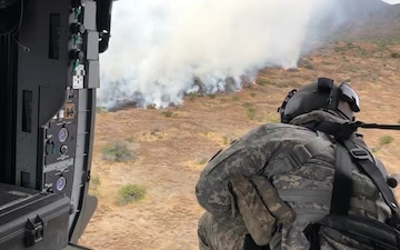 25th CAB Aerial Firefighting on PTA