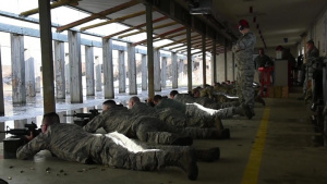 Airmen of the 127th Wing Prepare for Deployment