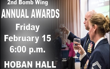 2nd Bomb Wing Annual Awards Promo 2019