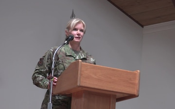 Col. Mary Decker - Change of Command